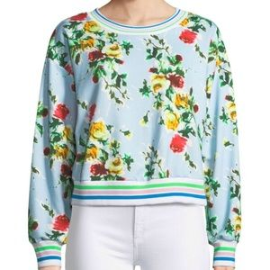 Milly Tyler Rose French Terry Sweatshirt